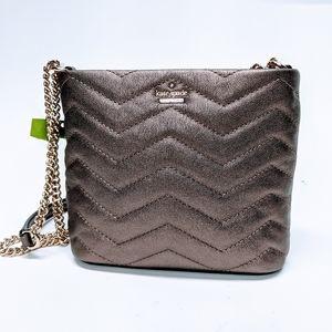 Kate Spade Reese Park Ellery Metallic Leather Bag